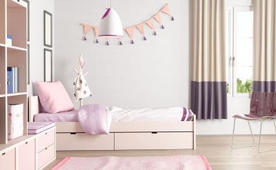 Спальня с односпальной кроватью 2