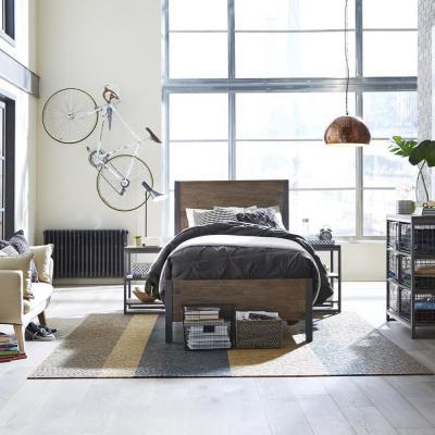 Спальня с односпальной кроватью 4