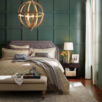 Зеленая спальня 18 кв. м 2
