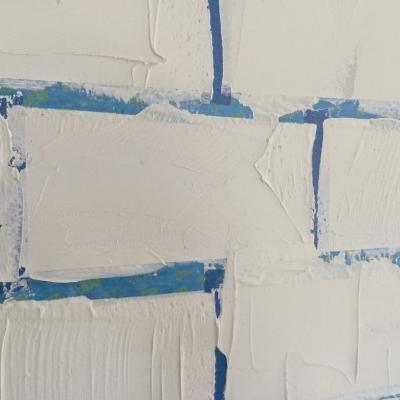Быстрый способ сымитировать на стене кирпичную кладку