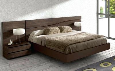 Натуральные материалы в интерьере спальни 2019 3