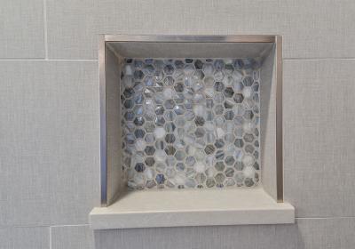 Оформление стен в ванной 2019 3Д-плитка 3