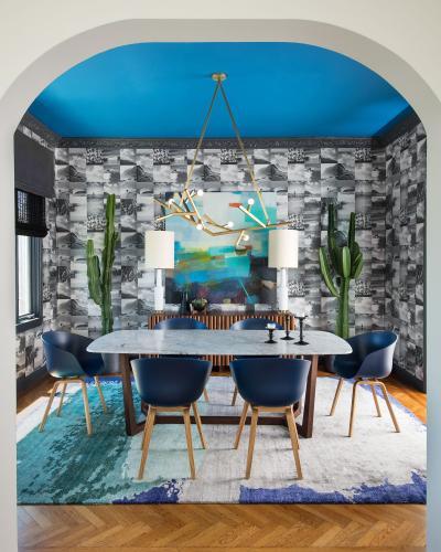 Потолок в квартире 2019 яркий 3