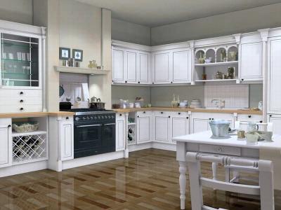 Кухня в стиле прованс белая 1
