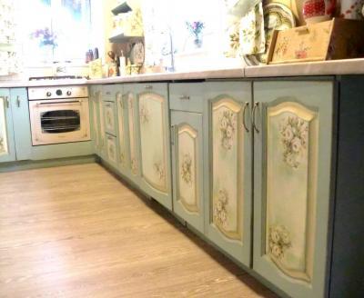 Кухонный гаринтур в стиле прованс 5