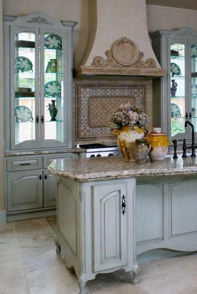 Столешница для кухни в стиле прованс 5
