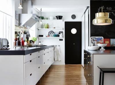 Двери для кухни в скандинавском стиле 3