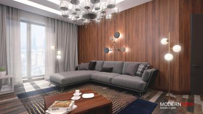 Апартаменты Маяковская 78м2 - проект от 7