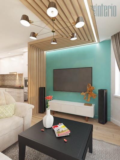 Интерьер квартиры 95кв. м - проект от interio