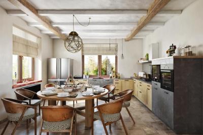 Кухня в стиле прованс (110 фото)