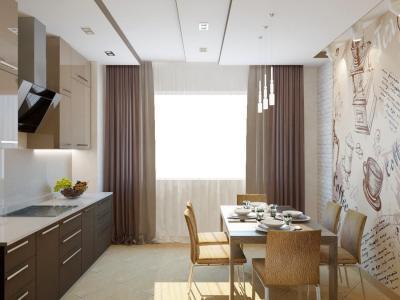 Кухня в современном стиле (Наталья Бучнева, г. Челябинск) 3