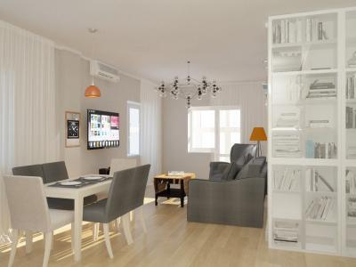 Дизайн кухни в скандинавском стиле (г. Челябинск) - фото 2