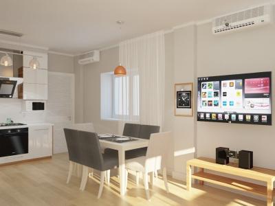 Дизайн кухни в скандинавском стиле (г. Челябинск) - фото 4