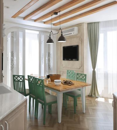 Кухня 14 кв.м (Instilier, г. Москва) 2