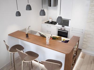 Кухня до 5 кв.м (Instilier, г. Москва) 1