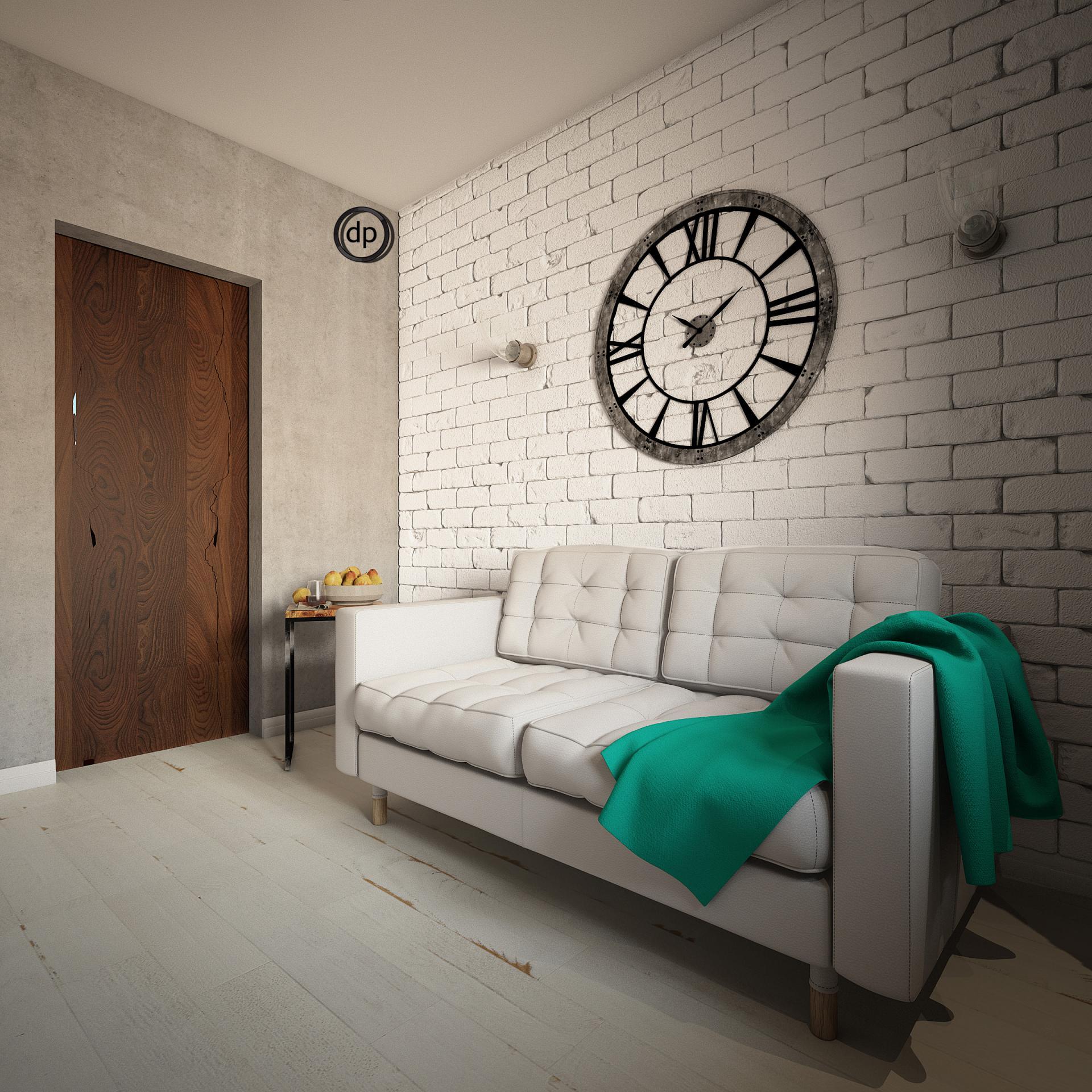 Лофт в малогабаритной квартире