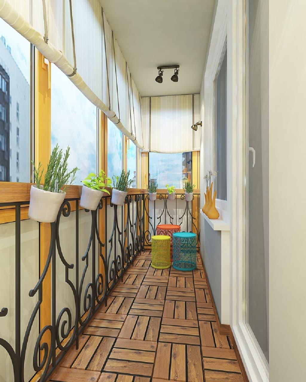 Дизайн балкона / интерьер / балкон, веранда / pinme.ru / pin.