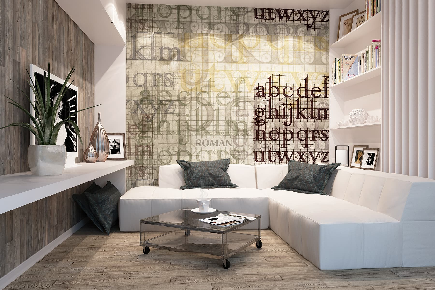 Проект квартиры-студии в ЖК «Полежаевский Парк»