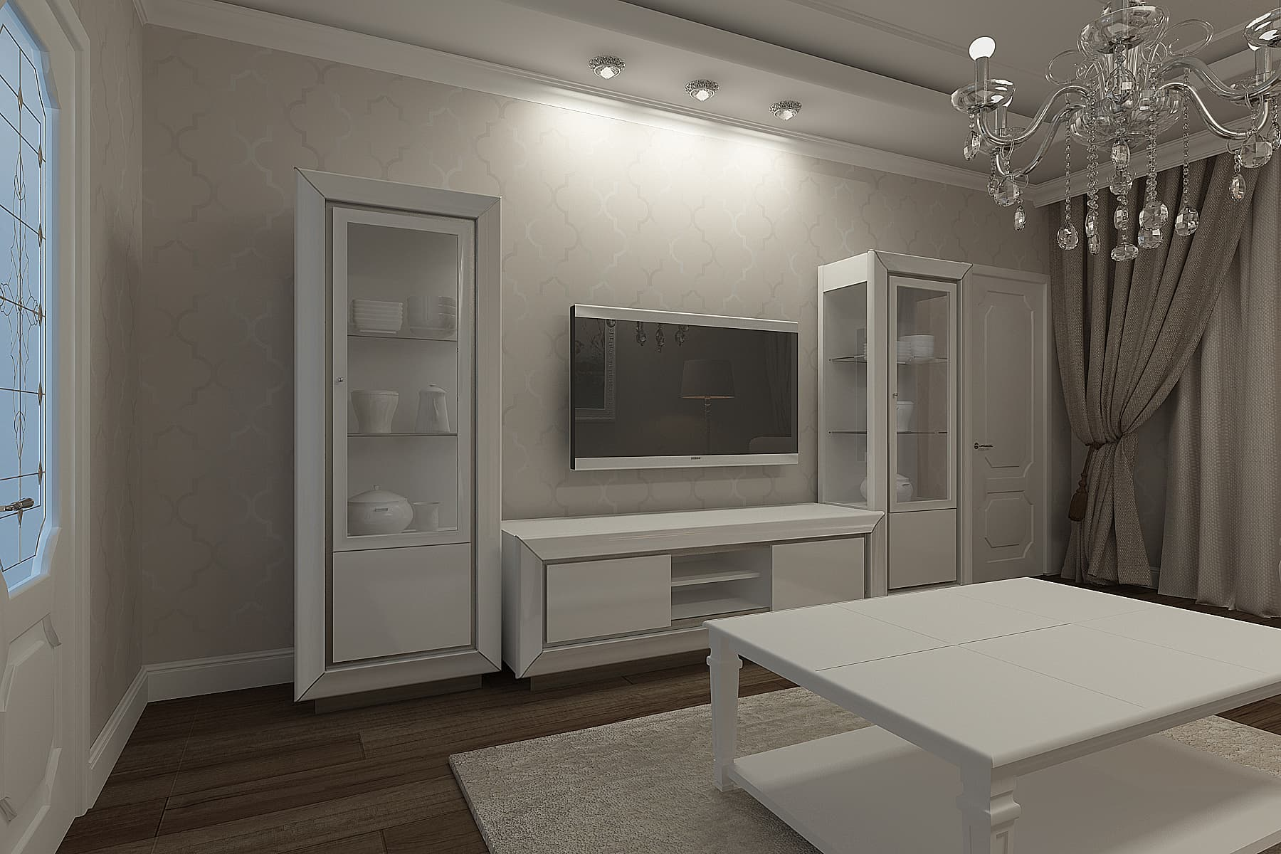 Проект квартиры 160 кв. м на пр. Большевиков