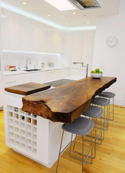 Фото барной стойки для кухни